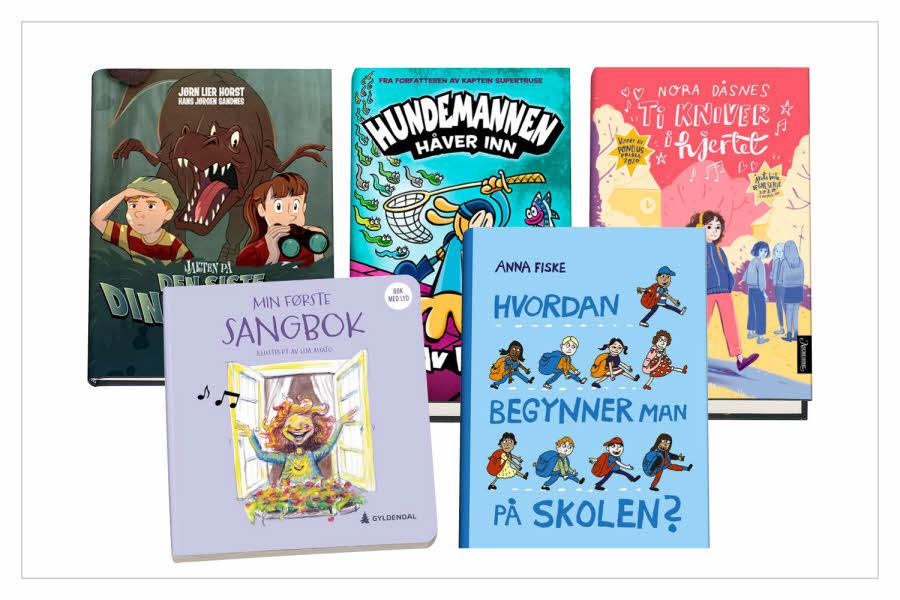 Utvalgte barnebøker
