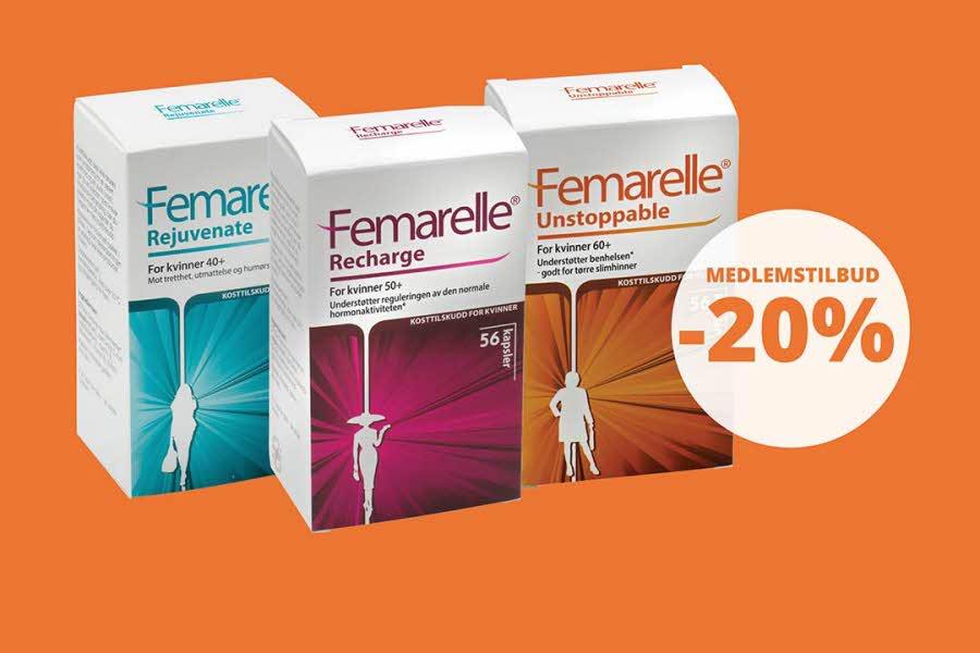 Pakker med Femarelle