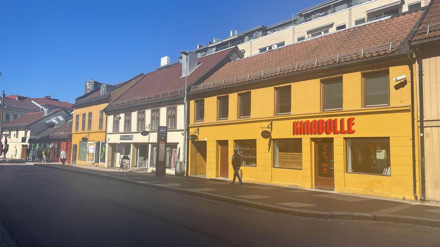 Grønland basar gamle bygninger