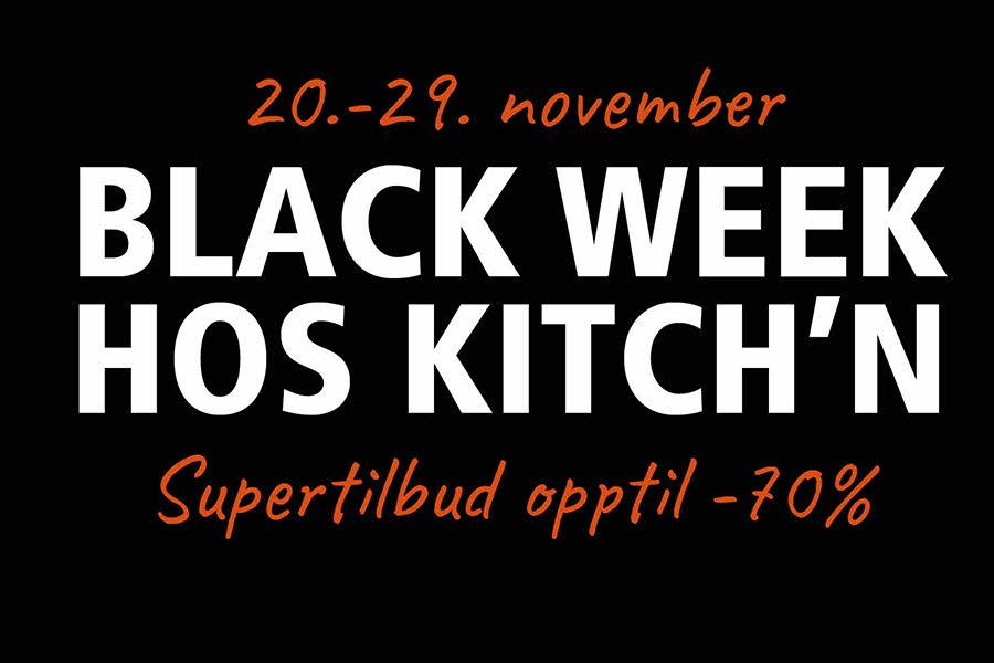 Black Weekend-tilbud