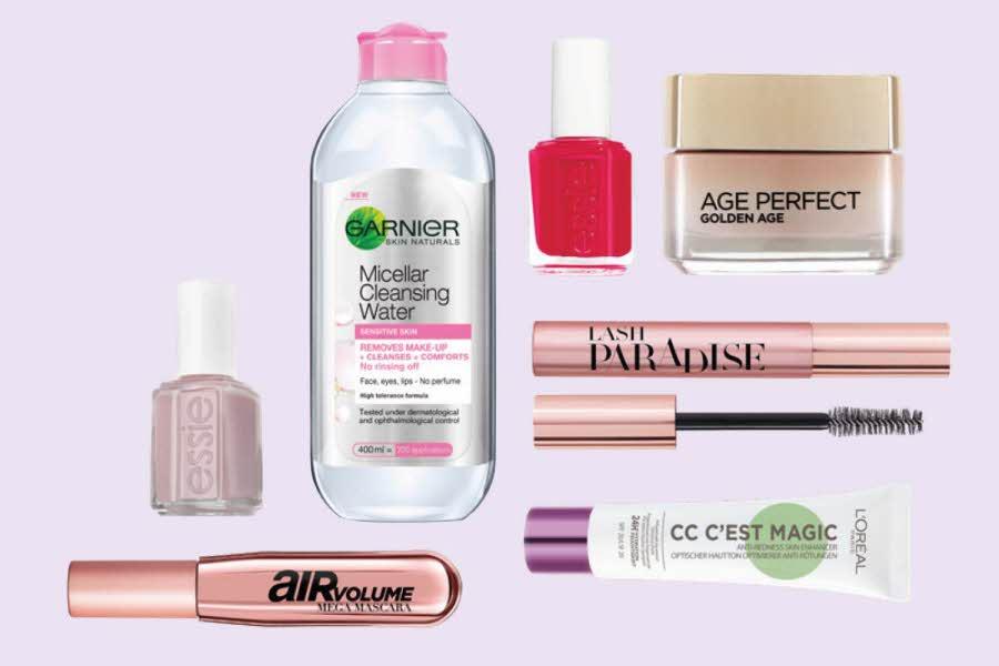 Utvalgte makeup produkter
