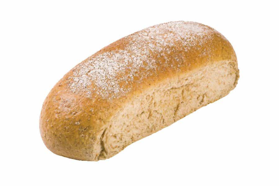 Grovt nystekt brød