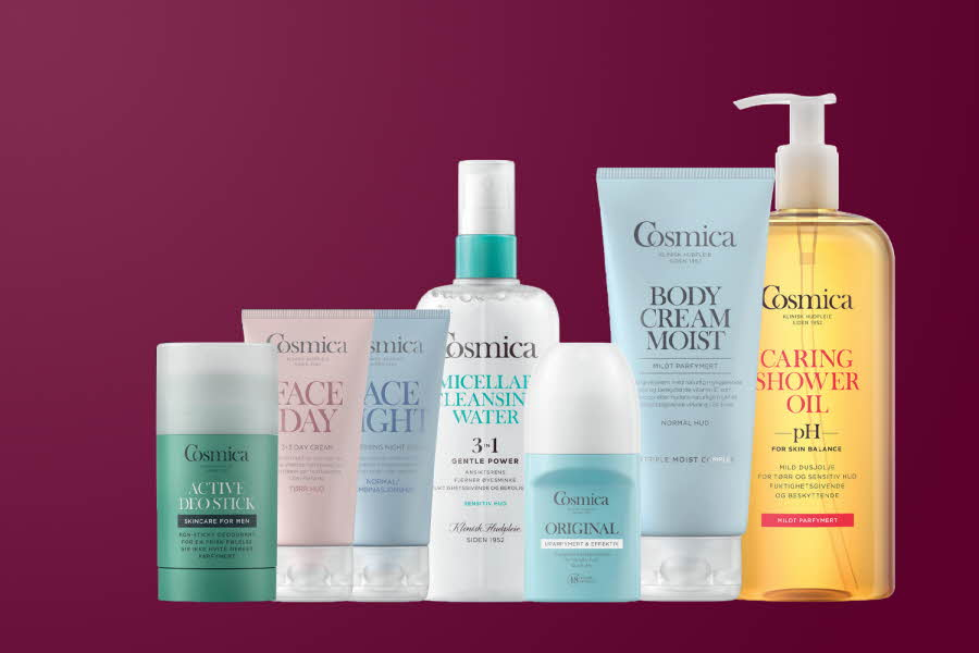 Produkter kropp- og ansiktspleie produkter