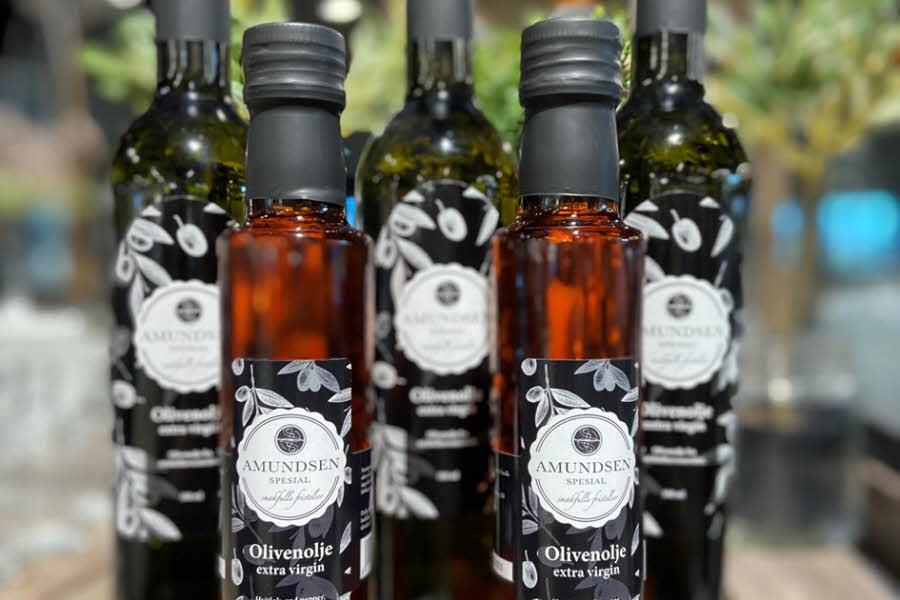 Oliven- og aromatisk olje fra Amundsen spesial