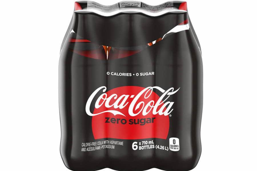 coca cola zero 6 pk