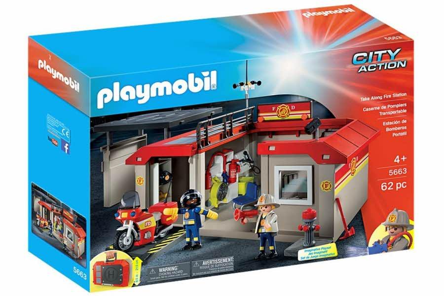 playmobil brannstasjon