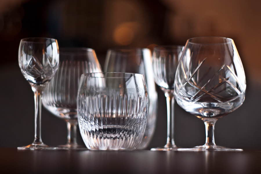 Ulike glass fra Magnor Alba