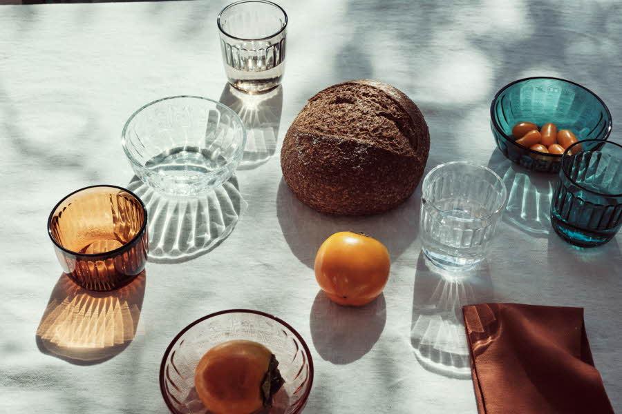 Ulike glass fra Iittala