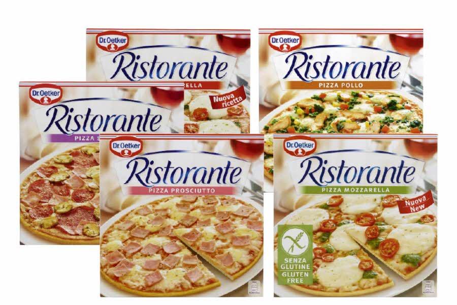 Ulike varianter Ristorante pizza