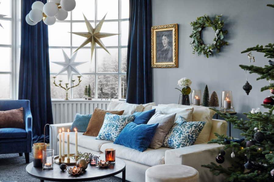 Stue som som er dekorert