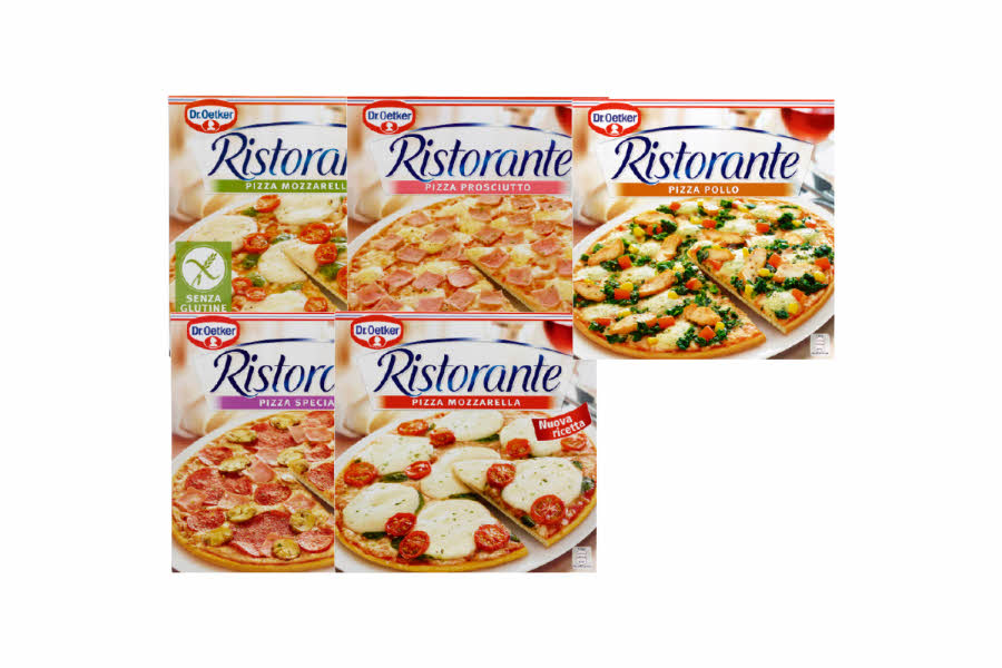 Utvalgte Ristorante pizza