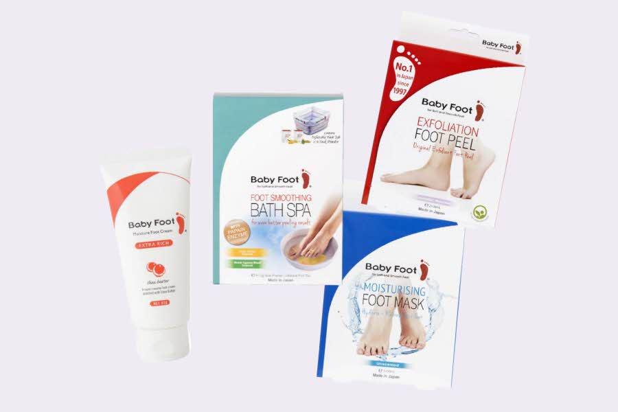 Produkter fra Baby Foot