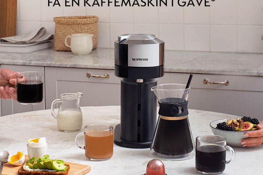 Bilde av Nespresso kaffemaskin