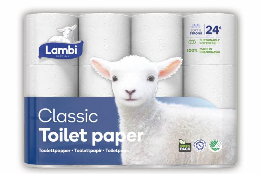 Lambi toalettpapir
