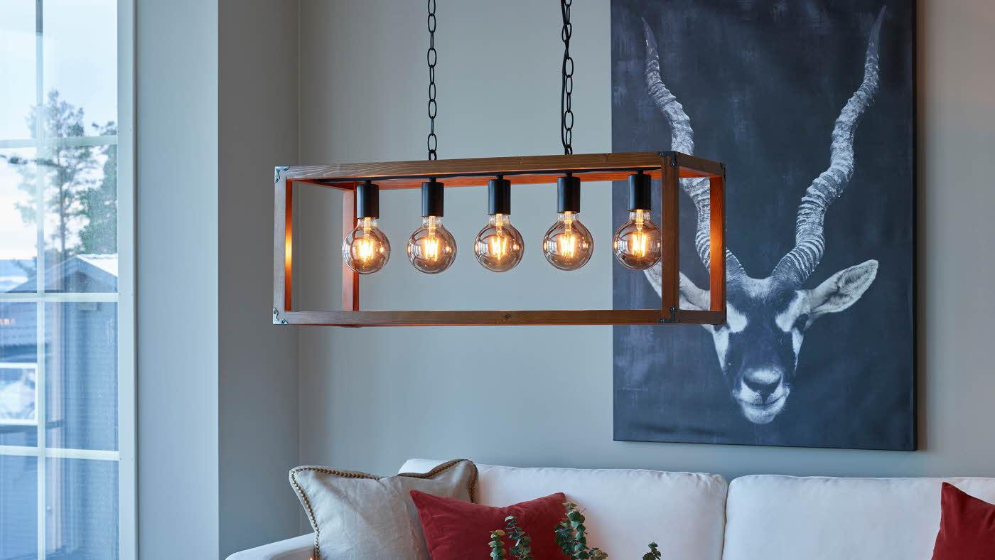 Hubert LED bordlampe Nova Life Hvit | Best på lys