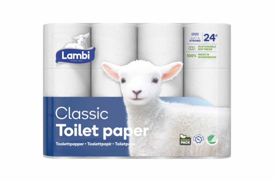 Produktbilde av Lambi toalettpapir