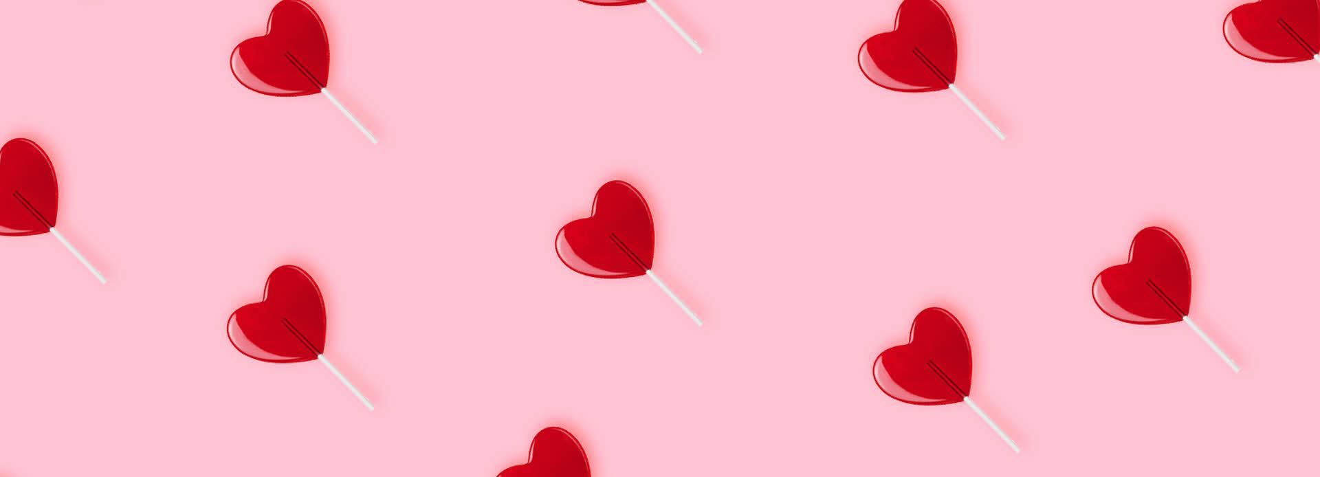 Bilde av kjærlighet på pinne