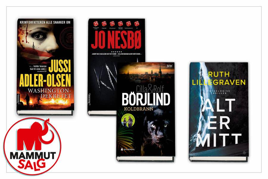Produktbilder av bøker