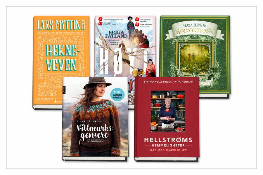 Utvalgte bøker under mailsalget