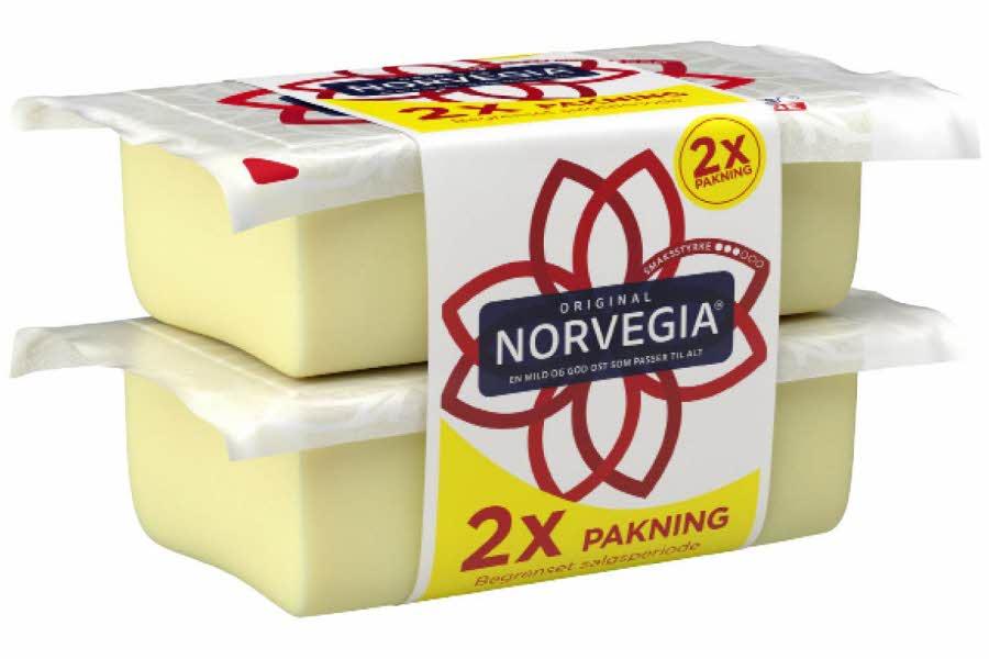 Dobbel pakke med Norvegia