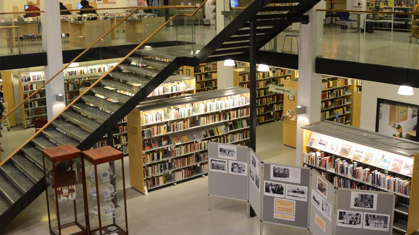Ski-bibliotek-oversikt-16_9 オスロ郊外にある図書館 ①スキー編