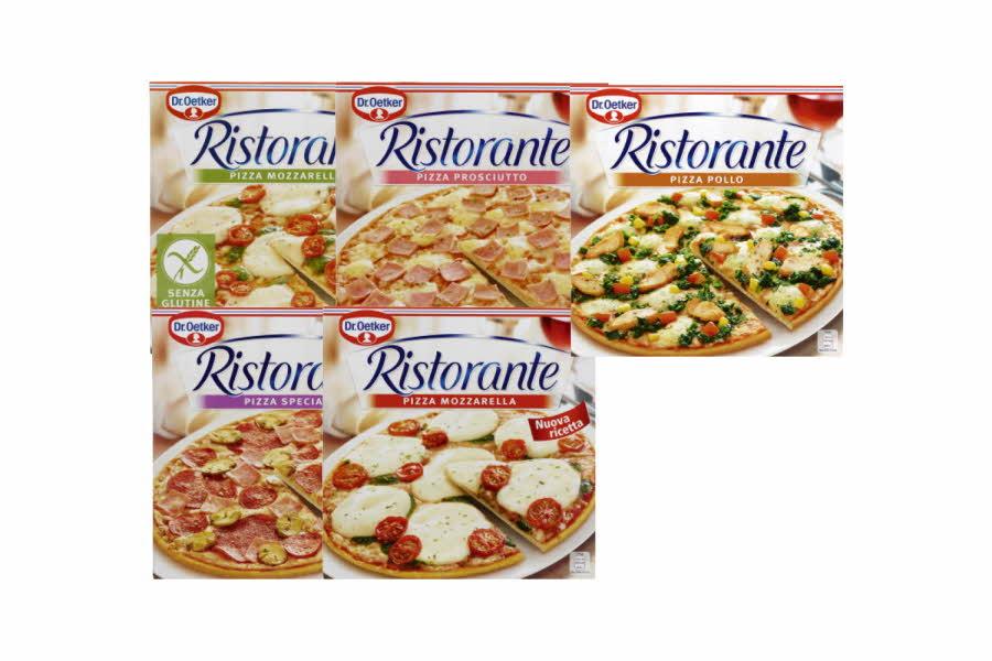 Flere pizzaesker