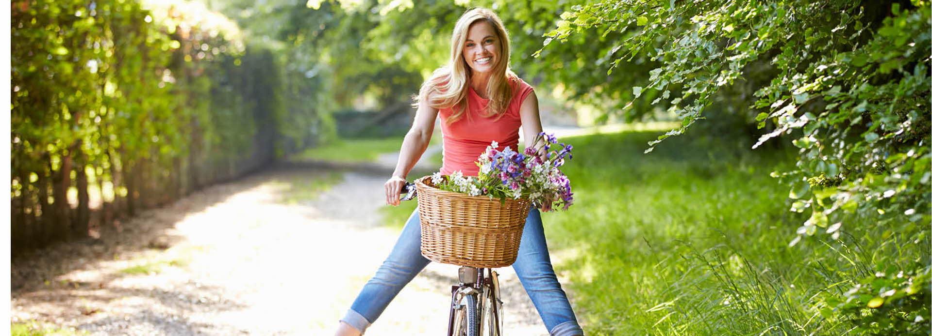Sommer og sykkel