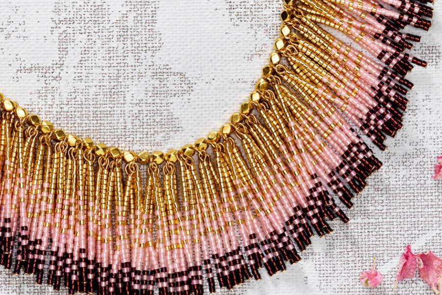 Smykker laget av TOHO seed