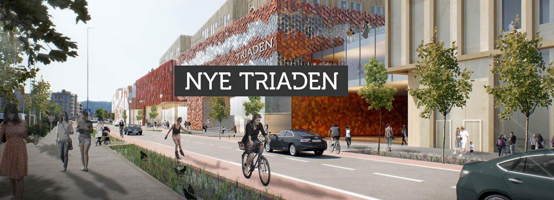 Prosjektbilde av Triaden etter ombygging