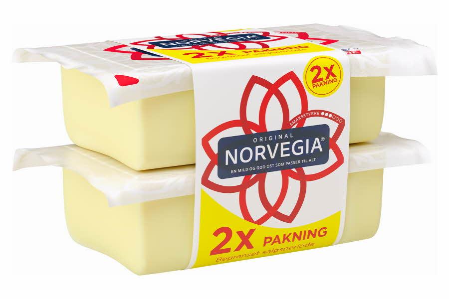 Dobbel Norvegia ost
